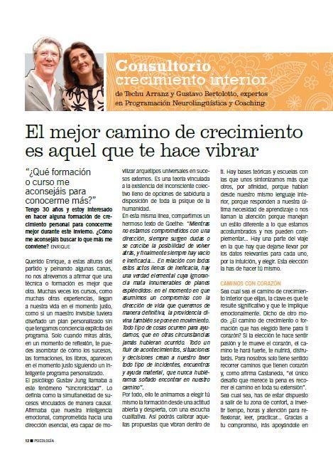 artículo Techu y Gustavo